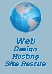 Webhosting, Website Rescue, Website Design